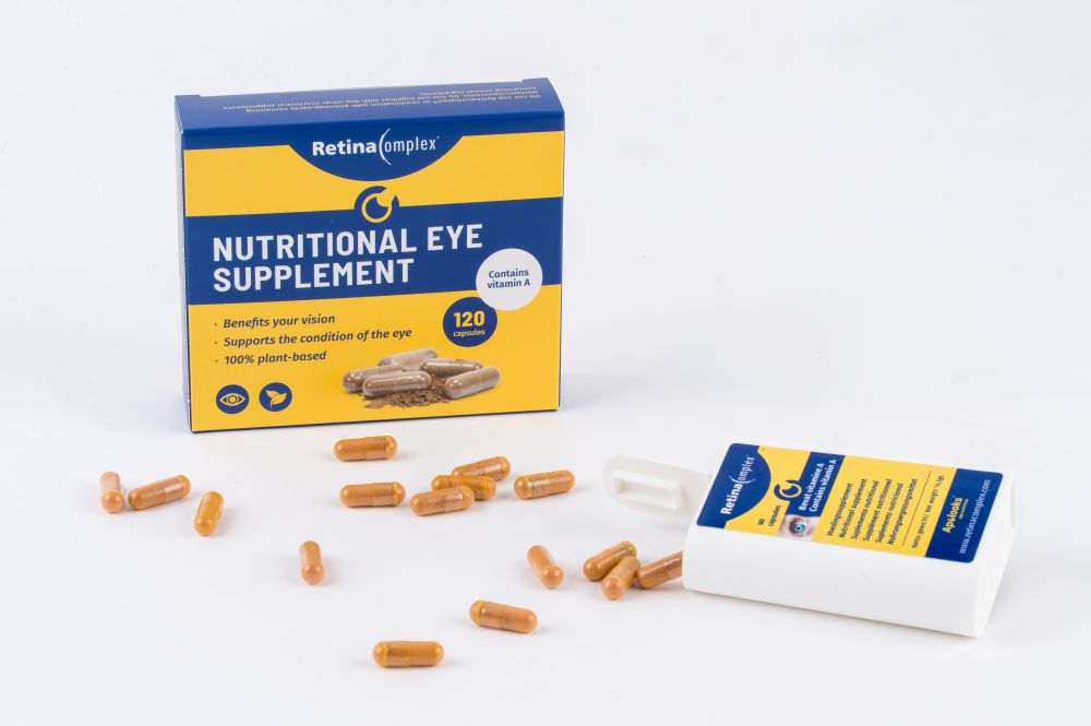 Retinacomplex® Nutritional eye supplement - 120 capsules - Vegan