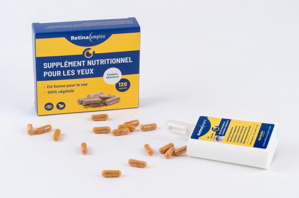 Retinacomplex® Complément nutritionnel pour les yeux - 120 capsules