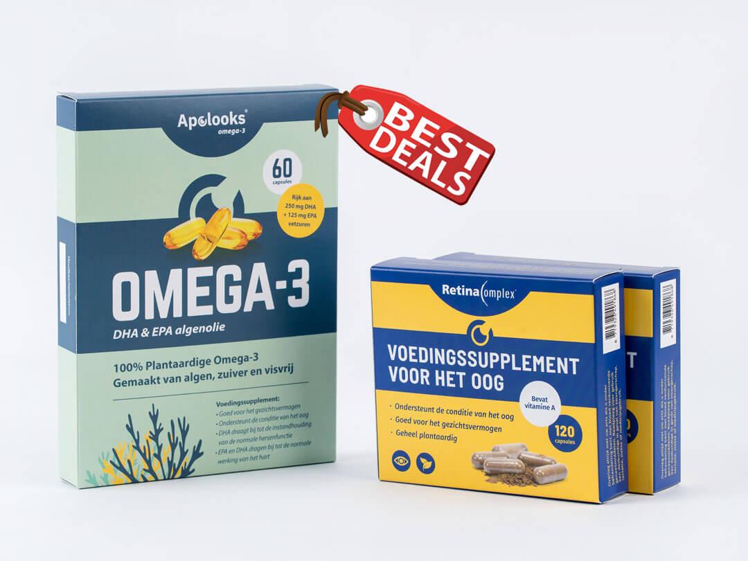 Retinacomplex® & Omega-3 algenolie - Bundelkortingen